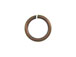 Round Antique Copper Plated Brass Open Jump Ring