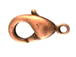 Copper Plated Base Metal Lobster Claw Clasp
