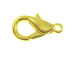 Bright Gold Plated Base Metal Lobster Claw