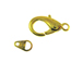 Gold Plated Lobster Clasp with Tag