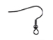 Gun metal finish Earwire with Ball & Coil