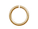 19 Gauge Gold Plated Open Jump Ring