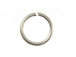 19 Gauge Silver Plated Open Jump Ring - Bulk Pack