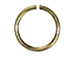 20 Gauge Round Open Jump Ring Antique Brass Plated