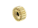 5.25x2.75mm 14K Gold Filled Corrugated Rondelle Beads