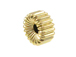6x3mm 14K Gold Filled Corrugated Rondelle Beads