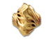 16mm Gold-Filled Twisted Garlic Nugget Bead 14/20Kt.