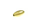 14K Gold Filled  7x3mm Oval Rice Bead
