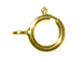 7mm Gold Filled Spring Ring Clasp