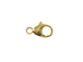 14K Gold-Filled Oval Lobster Claw Trigger Clasp 9mm, Built in Jump Ring