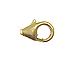 14K Gold-Filled 13x7mm Lobster Claw Trigger Clasp, no Jump Ring