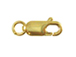 14K Gold-Filled 10x4mm Lobster Claw Clasp with Jump Ring