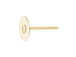 14K Gold-Filled Post Earring with 5mm Flat Pin Pad