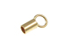 14K Gold-Filled Endcap 1mm Internal Diameter
