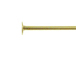 3 Inch, 24 Gauge Gold Filled Headpin