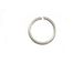 18 Gauge Silver Plated Open Jump Ring 7.5mm Round