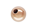 4mm Round Seamless ROSE Gold Filled Beads 14K/20, 1.2m Hole, 1000 pc Bulk