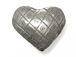 1  Sterling Silver Hill Tribe Heart Beads