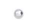 100  2.5mm Round Plain Seamless Sterling Silver Beads