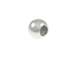 100  3mm Round Plain Seamless Sterling Silver Beads with 1.3mm Hole