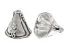 13.5x15mm Sterling Silver Decorative Cone