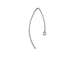 Sterling Silver Fancy Earwire 26mm