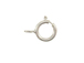 Sterling Silver: 5mm Heavy Duty Spring Ring Clasp