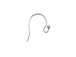 Sterling Silver Bead Earwire 15mm