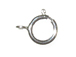 6mm Sterling Silver Heavy Duty Spring Ring Clasp
