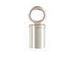 3mm Sterling Silver Tube Endcap (3mm ID)