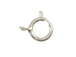 Sterling Silver: 7mm Spring Ring Clasp