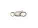 10mm Sterling Silver Lobster Claw Clasp with Ring