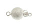 Sterling Silver Stardust Bead Clasp
