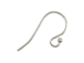 11.5mm Sterling Silver Round French Earwire with Ball End 19.5 Gauge 10 pc