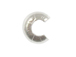 4mm Sterling Silver Open Ball Crimp Cover