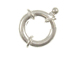 Sterling Silver: 14mm Spring Ring Clasp