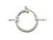 Lightweight Spring Ring Clasp Sterling