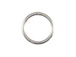7mm Round Sterling Silver Closed Jump Rings, ?18 Gauge or 1mm Thick