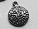 10 x 12 mm Diamond Disk Pendant