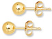 14K Gold-Filled 8mm Ball Post Earring  with Clutch, 1 Pair