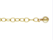 Gold-Filled 2-inch Link Extender Chain With Ball