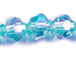 Aqua AB 6mm Round Bead - Thunder Polish Glass Crystal