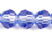 Lt. Sapphire 6mm Round Bead - Thunder Polish Glass Crystal