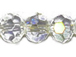 Crystal AB 6mm Round Bead - Thunder Polish Glass Crystal