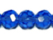 Med. Sapphire 6mm Round Bead - Thunder Polish Glass Crystal