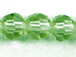 Peridot 6mm Round Bead - Thunder Polish Glass Crystal