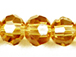 Topaz 6mm Round Bead - Thunder Polish Glass Crystal