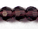 Garnet 6mm Round Bead - Thunder Polish Glass Crystal