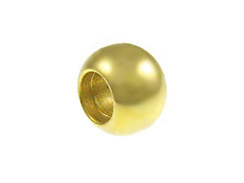 1000 - 7mm Ball Bead Brass Plated