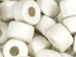 White - 6x4mm Greek Ceramic Beads